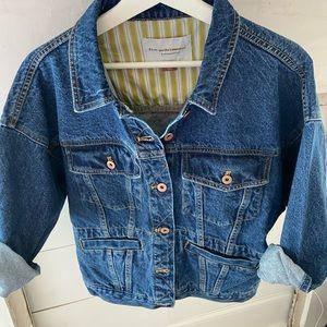 Brand new! Pilcro Anthropologie denim jacket